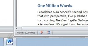 Million words